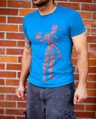 /mens/mens-tees/mens-short-sleeve-blue-berimbau-player-shirt/