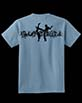 Youth's Short Sleeve Blue Berimbau Shirt
