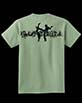 Youth's Short Sleeve Green Berimbau Shirt