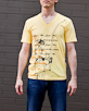 Men's Short Sleeve Yellow Gunga Shirt